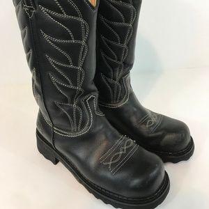 JOHN FLUEVOG Womens Cowboy Western Boots SZ 7.5